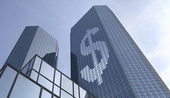 банк со знаком доллара